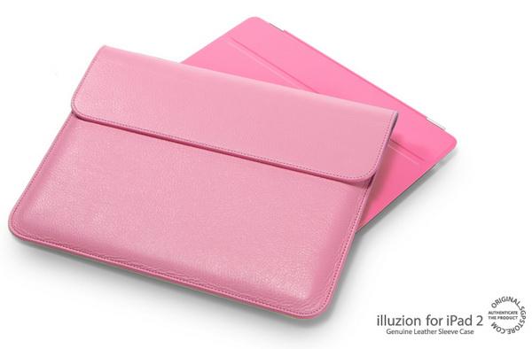 SGP illuzion Sleeve Sherbet Pink чехол для iPad 2 купить цена москва