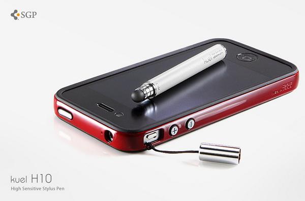 SGP Stylus Pen Kuel H10 Series White стилус для iPhone/iPod/iPad купить цена москва