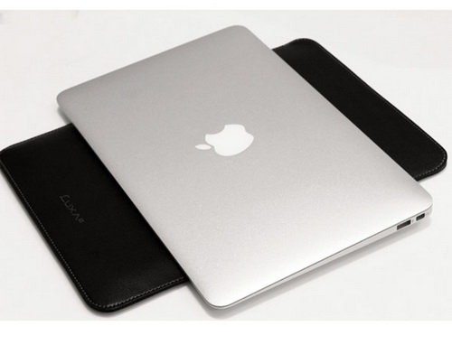 "Luxa2 Metropolitan Genuine Leather Sleeve LHA0026 Black чехол для MacBookAir 11"" купить цена москва"