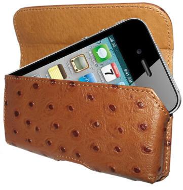 Piel Frama Horizontal Pouch Ostrich чехол для iPhone 4 купить цена москва
