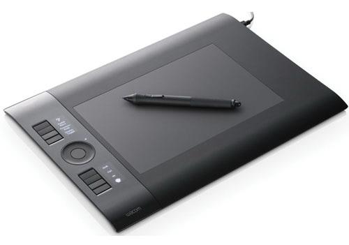 Wacom Intuos4 M Medium PTK-640PSL-RU Adobe Lightroom 3 графический планшет купить цена москва