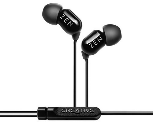 Creative Aurvana ZEN VX-15 Black наушники для iPhone/iPod/iPad купить цена москва