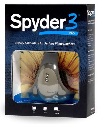 Datacolor Spyder3Pro калибратор мониторов купить цена москва